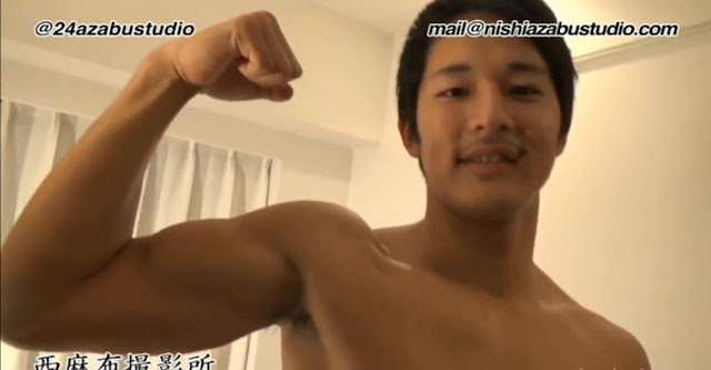 Japanese Handsome Muscle Boy On Cam