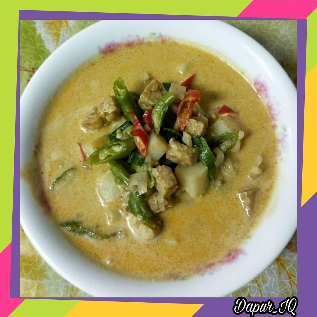 Sayur Tempe Lombok Ijo
