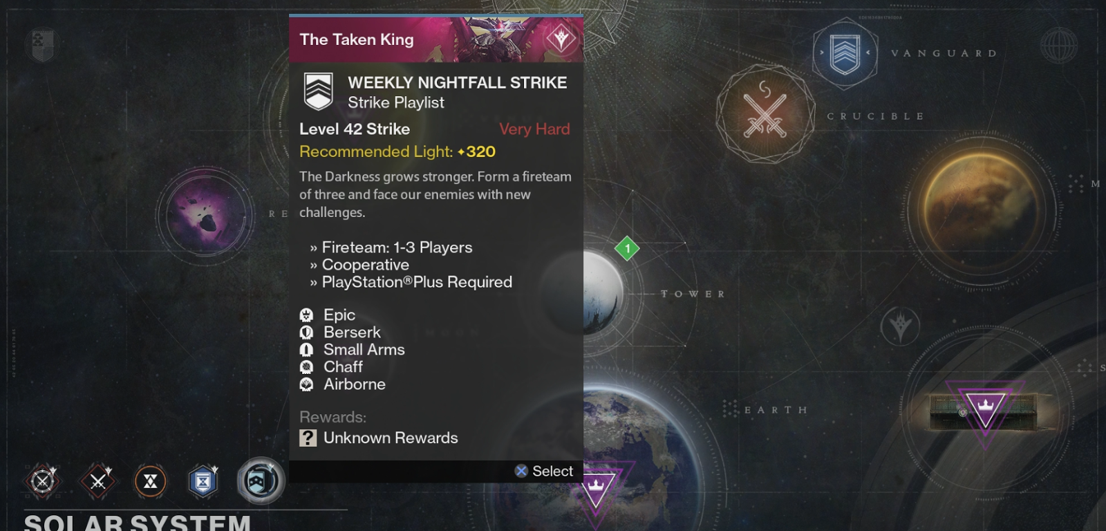 Destiny matchmaking for nightfall