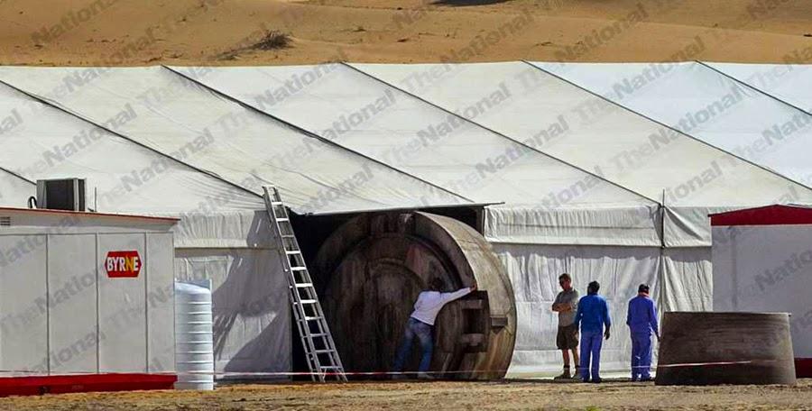 Locaţia filmărilor pentru Star Wars Episode 7 din Abu Dhabi