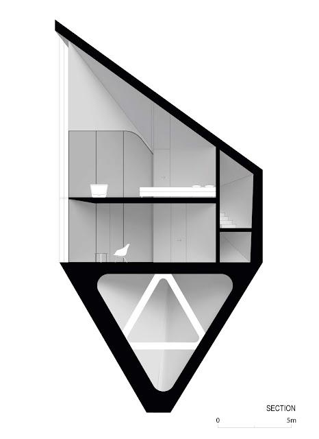 01. Rumah Pohon di Italia Utara oleh Peter Pichler Architecture (PPA)