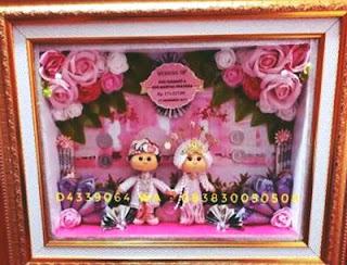 mahar pernikahan karakter kartun