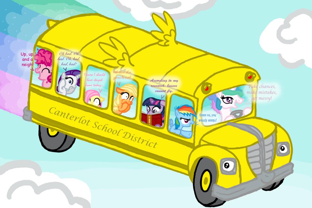 Kumpulan Gambar The Magic School Bus  Gambar Lucu Terbaru