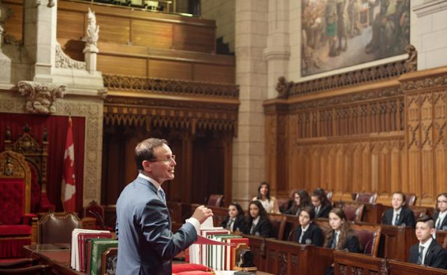 «Είναι ώρα η Γερουσία Καναδά ν' αναγνωρίσει τη Γενοκτονία των Ελλήνων του Πόντου»