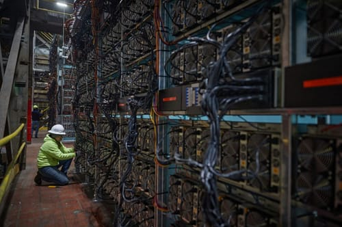 Bitcoin mining requires more electricity than the entire country