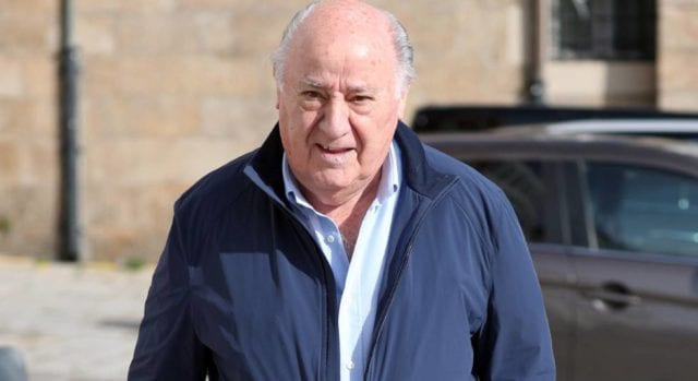 Amancio Ortega: $62.7 Billion