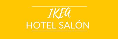 IKEA hotel salón