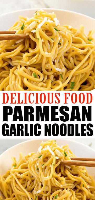 Parmesan Garlic #Noodles