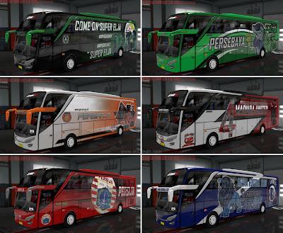 Livery Club Liga 1 Indonesia part 1