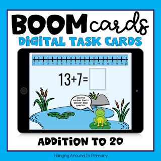 free boom cards for addition