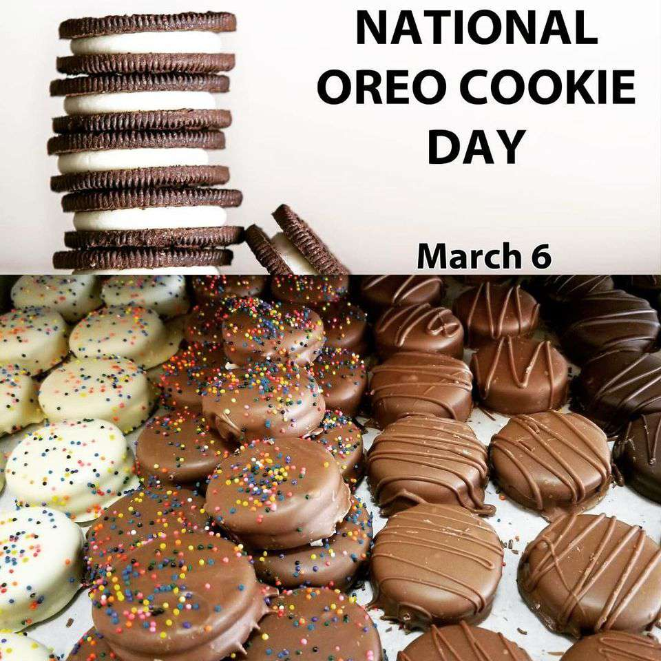 National Oreo Cookie Day Wishes Images download