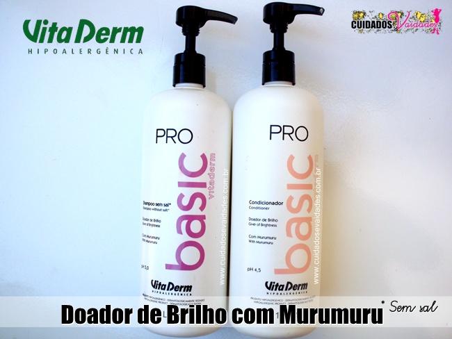 Shampoo e Condicionador Pro Basic Vita Derm