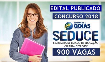 Concurso SEDUCE-GO 2018