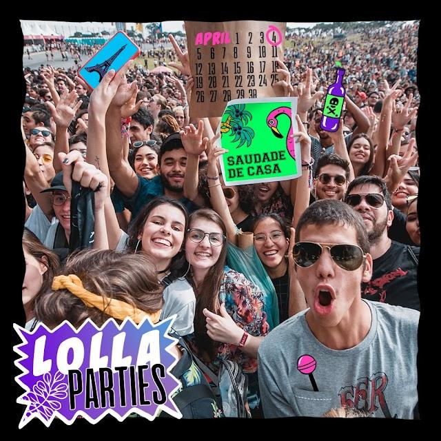Veja a lista de cantores que farão as Lolla Parties, shows que abrem a semana do festival Lollapalooza