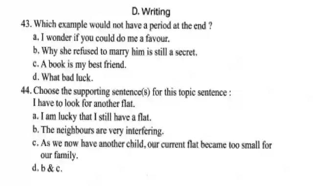 اهم ملف للتدريب على سؤال الـ Writing للصف الثالث الثانوي 2021