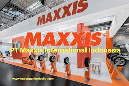 Lowongan Kerja PT Maxxis International Indonesia Cikarang