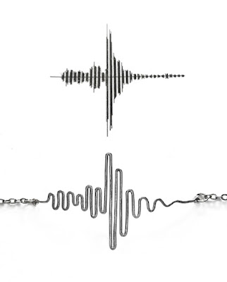 Sound wave by Fiore Jewellery