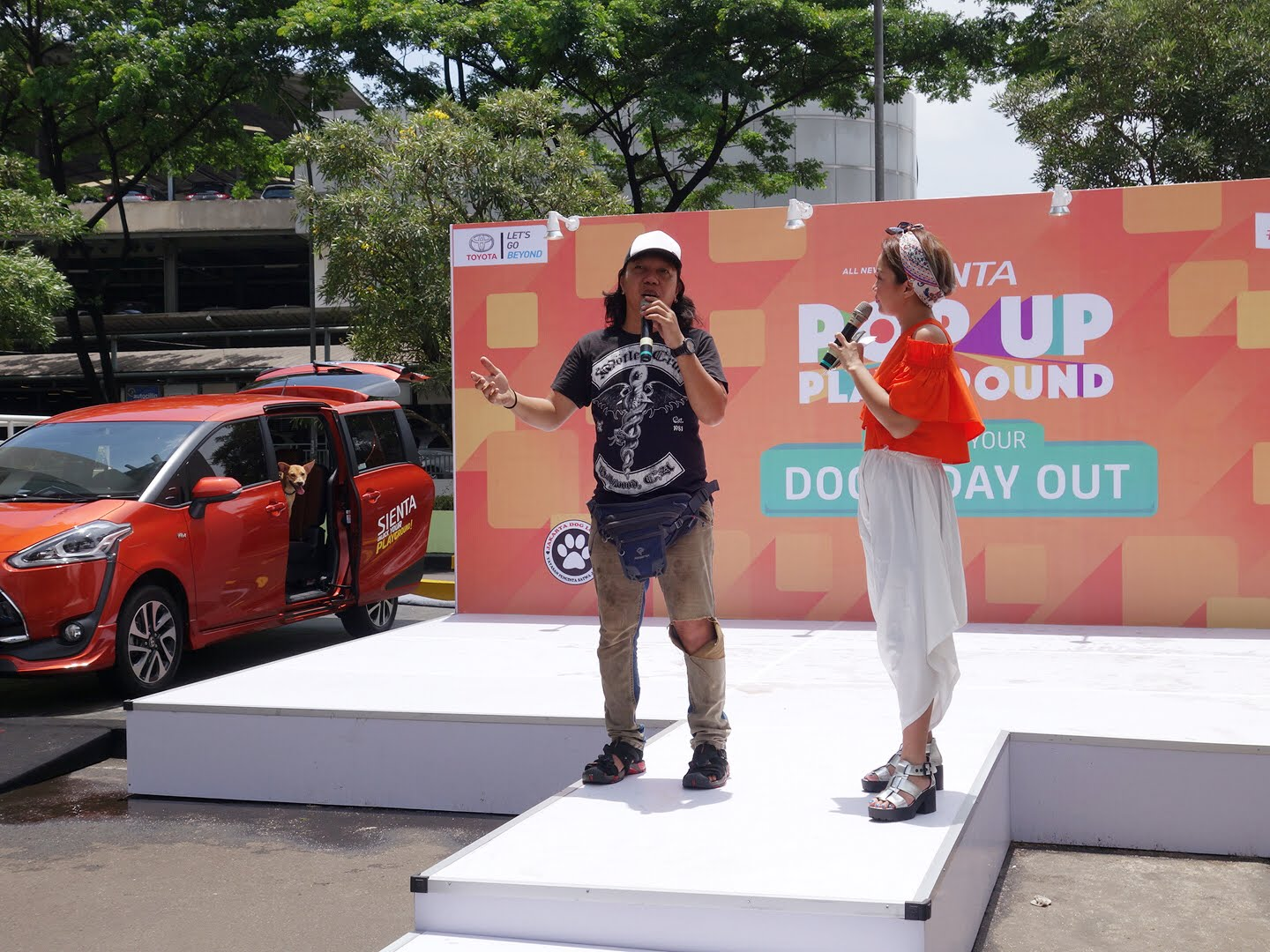 Sienta PopUpPlayground Dogs Day Out Putri Kansil My Eco Bella