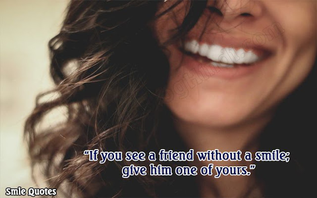 famous smile quotes