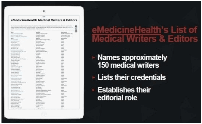 eMedicineHealth