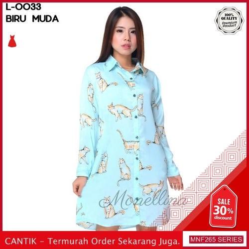 MNF265B106 Baju Muslim Wanita 2019 L 0033 Kucing 2019 BMGShop