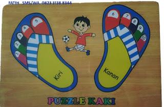 Mainan Puzzle Anak Murah Angka Kaki