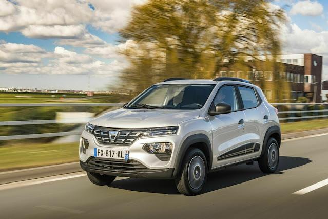 Dacia als E-PKW in der 10.000 Euro Klasse (sofern Förderprämie schon eingerechnet)