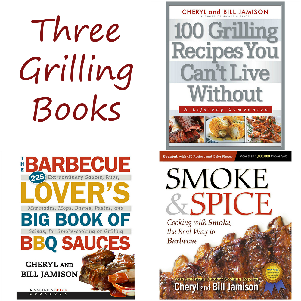 Three great grilling books