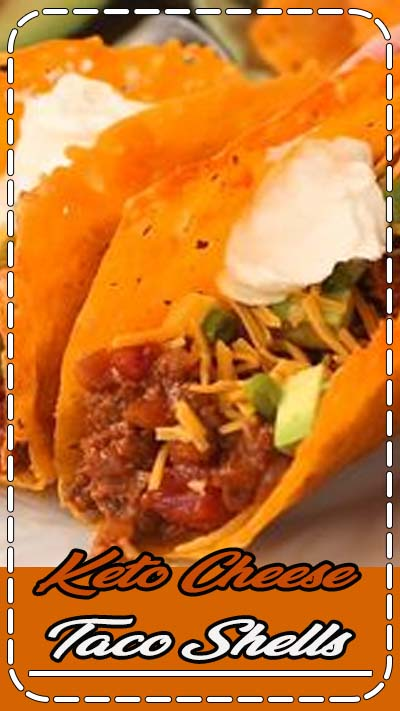 LOOK!!!! ZERO carb Keto Cheese Taco Shells are keto crunchy heaven and the perfect healthy keto family meal. Made in 3 easy steps, the keto cheese taco shells are naturally gluten free and keto. Serve with lettuce, guacamole, sour cream, salsa and more cheese to make this a healthy Mexican dinner the whole family will love. #keto #taco #lchf #lowcarb #glutenfree #tacodinner | via @ditchthecarbs