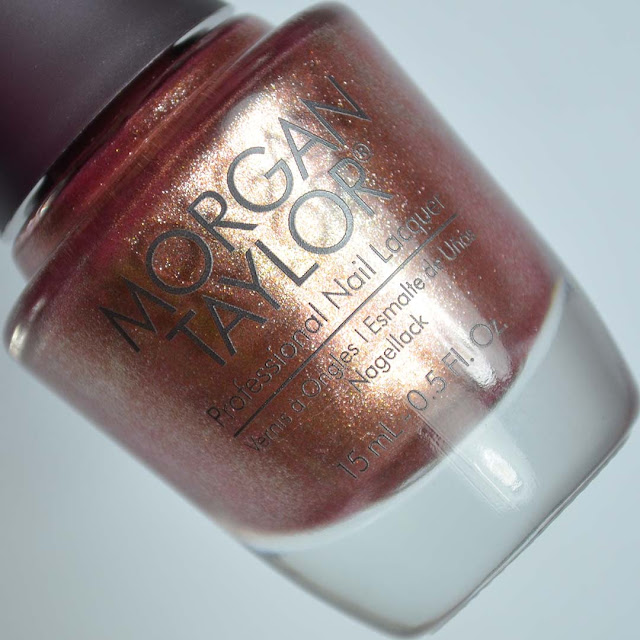 copper metallic nail polish