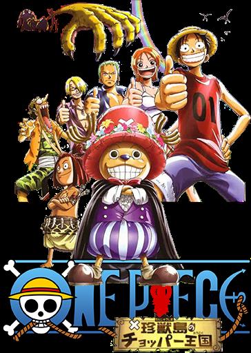 One Piece: La isla de los extraños monstruos: El reino de Chopper (2001) |Castellano| |Película 03| |HD 720p| |Mega|