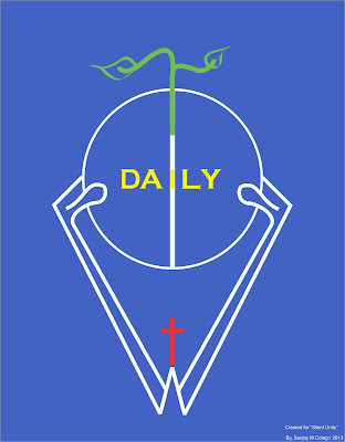 This is a logo design for the daily bread of God- for our life