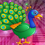 Games4King - G4K Tranquil Peacock Escape Game