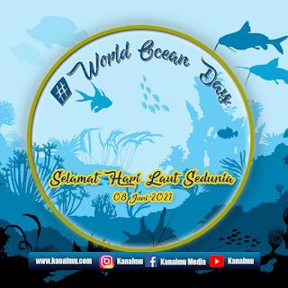poster ucapan  hari laut sedunia psd - kanalmu
