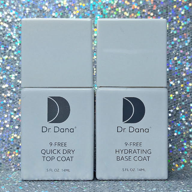 Dr. Dana Beauty Nail Polish - Quick Dry Top Coat & Hydrating Base Coat