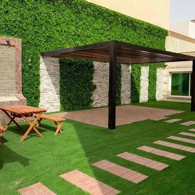 بناء حدائق منزلية بالرياض