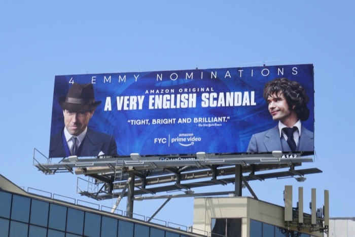 A Very English Scandal 4 Emmy nominations billboard
