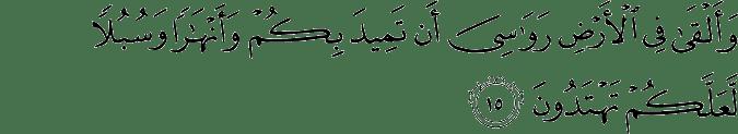 Surat An Nahl Ayat 15