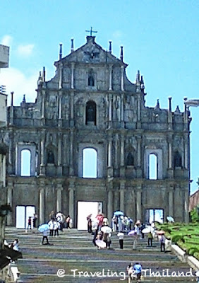 Ruins of St. Pauls Church in Macau (2007)