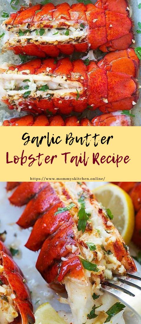Garlic Butter Lobster Tails #recipe #dinner