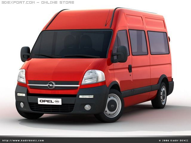 amazing car amazing van car opel movano. Black Bedroom Furniture Sets. Home Design Ideas