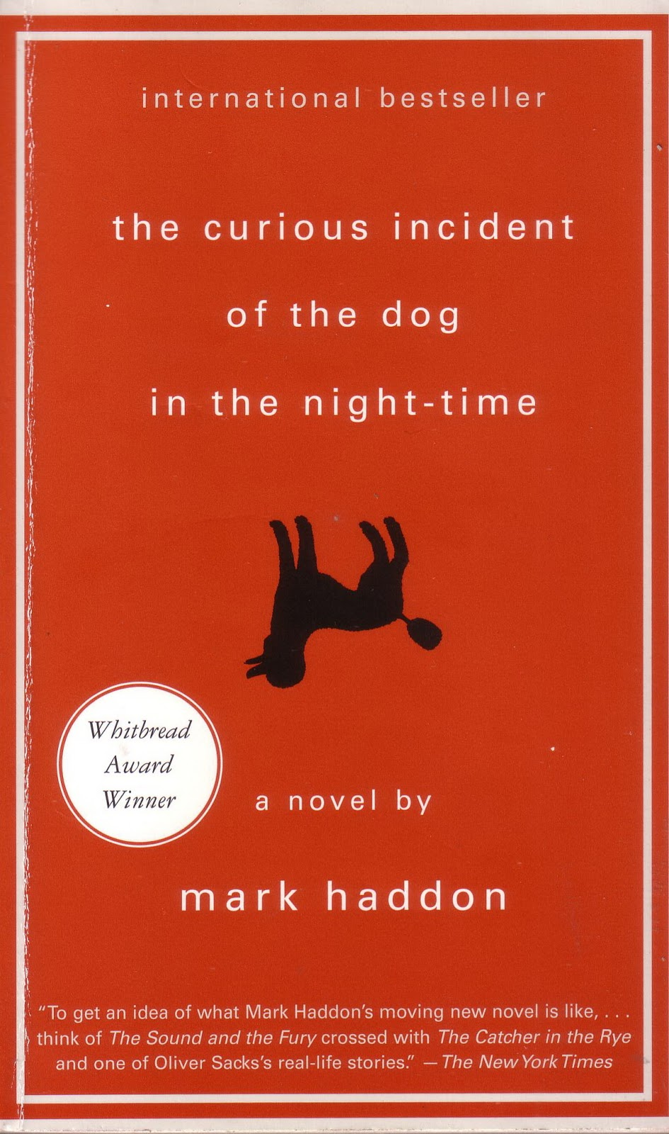 The curious incident of the dog in the night time monologue
