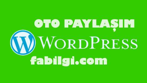 Wordpress Otomatik Sosyal Medya Paylaşım Eklentisi İndir 2021