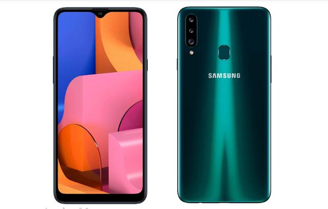 Samsung Galaxy A20s launch, three rear cameras, and 4,000 mAh battery