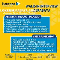 Walk In Interview di Hartono Surabaya Terbaru Juli 2019