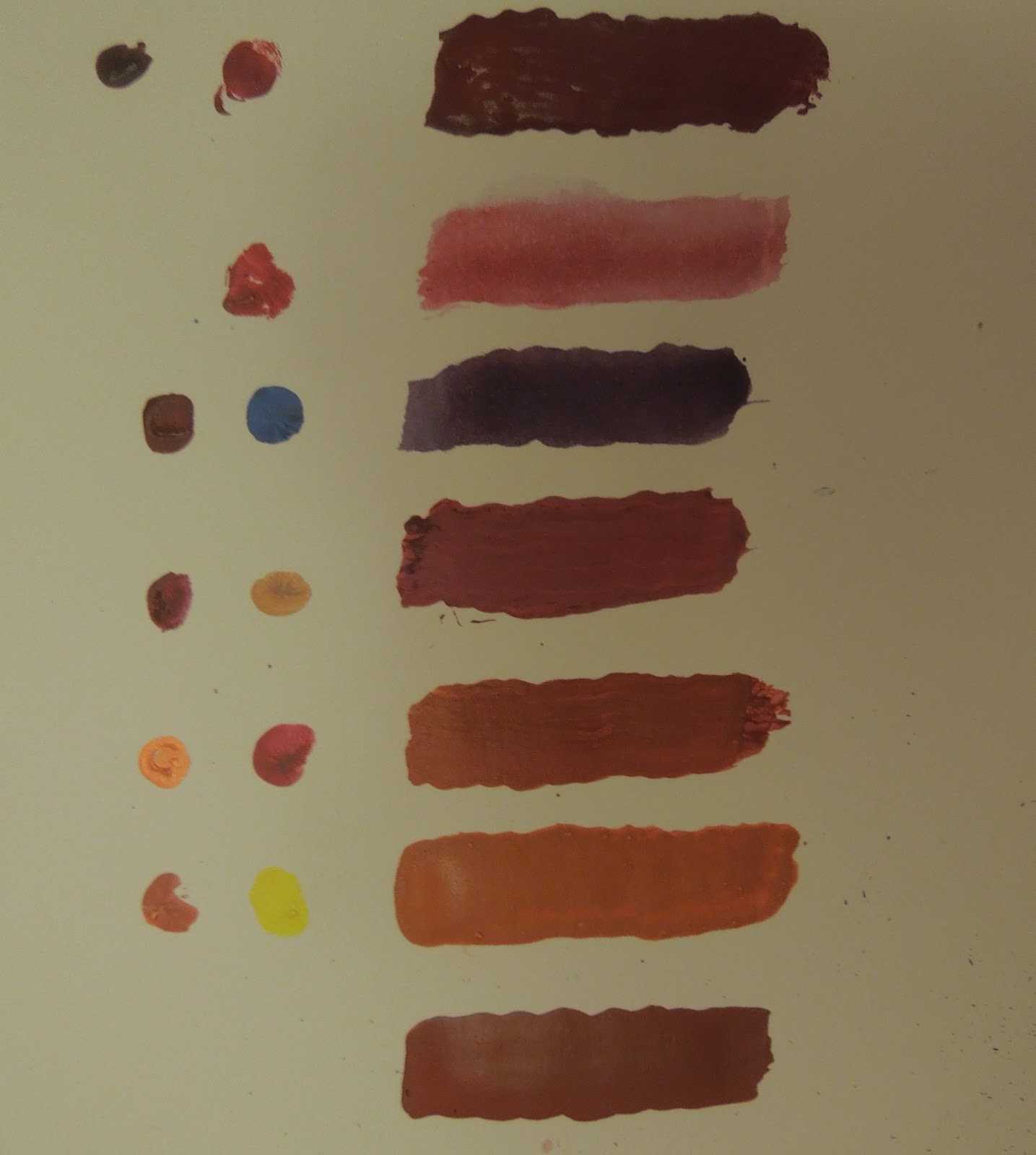 Dark Red Mix Brown With Bright This Color Can Be Used For Painting A Rose Etc Orange Light Yellow And Obviously You Use