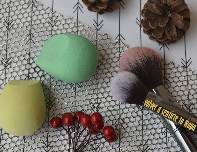 Favoritos de Maquillaje: esponjas de Ecotools y brochas de Maiko