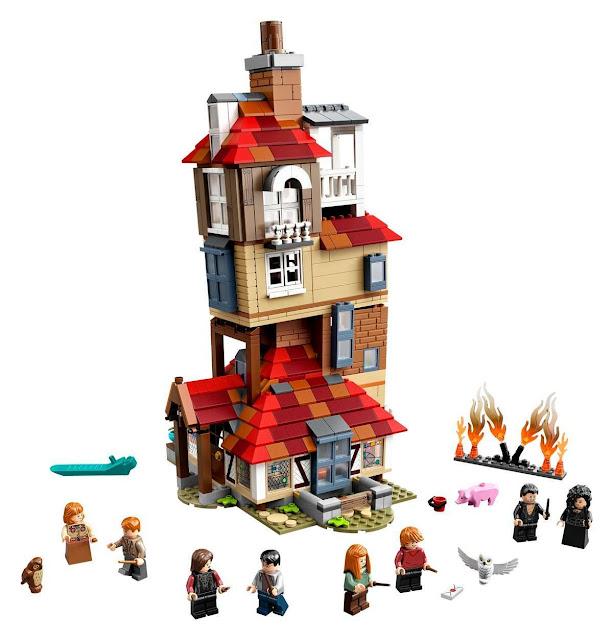 LEGO anuncia seis novos conjuntos de 'Harry Potter' | Ordem da Fênix Brasileira