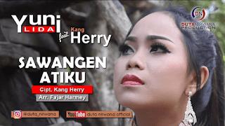 Lirik Lagu Sawangen Atiku - Yuni Lida Ft. Kang Herry