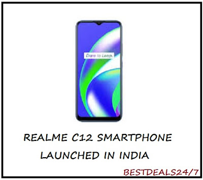 Realme C12 Launched in India